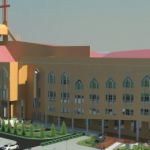 The new deeper life building in Gbagada